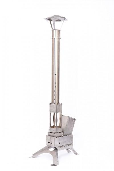 Thaller Terrassenofen D100 mit Feuerlaterne
